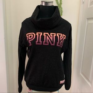 Victoria's Secret SpelloutPINK CowlNeckSweatshirt